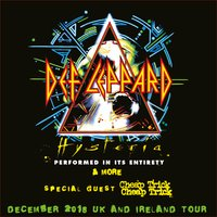 Def Leppard (Show Deck) Ticket