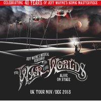 War of the Worlds (Block 3 & 4 Upper) Ticket