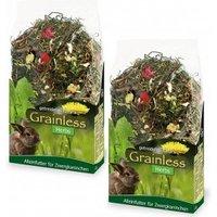 JR Farm Grainless Herbs Zwergkaninchen 5 kg + 950g Sparpack