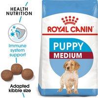 ROYAL CANIN MEDIUM Puppy Trockenfutter für Welpen mittelgroßer Hunderassen 15kg