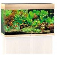 Juwel Rio 125 LED Komplett Aquarium ohne Schrank helles holz