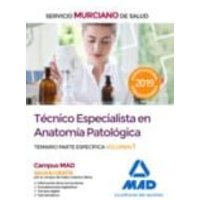 Tecnico Especialista En Anatomia Patologica Del Servicio Murciano De S