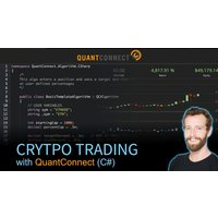 Image of Crypto Trading with QuantConnect (C#)