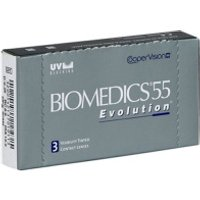 Gafas World ES|Lentes de Contacto Biomedics 55 Evolution 3 Pack