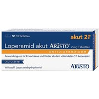 Loperamid akut Aristo 2 mg Tabletten