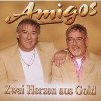 Amigos - Zwei Herzen aus Gold
