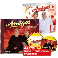 Babylon + Melodien der Herzen + GRATIS Frühstücksbrettchen + GRATIS Amigos Tasse