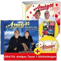 Babylon - Deluxe Edition + Melodien der Herzen + GRATIS Amigos Tasse + Stickerbogen