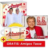 Alles wird gut + Melodien der Herzen + GRATIS Amigos Tasse