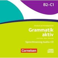 Grammatik aktiv B2/C1, Audio-CDs zur Übungsgrammatik