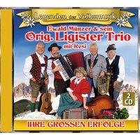 Ewald Münzer & sein Orig. Ligister Trio - Ihre grossen Erfolge,Legenden der VM (2 CDs)