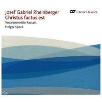 Christus factus est, 1 Audio-CD