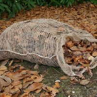 Compostable leaf sack for composting leaves Buy 20 and save
