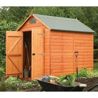 Product photograph showing Security Shed 7ft X 5ft