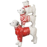 Product photograph showing Jumper Dog Ornament