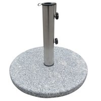 Product photograph showing Bramblecrest Granite Parasol Base 15kg