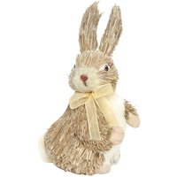 Product photograph showing Brown Bristle Bunny Ornament Large