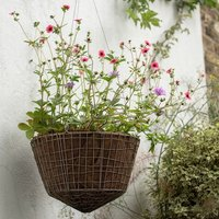 Product photograph showing Round Net Hanging Basket Large
