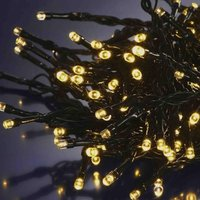 Product photograph showing Warm White Indoor Outdoor Led String Lights 100 100 Lights