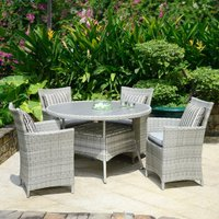 Product photograph showing Lifestyle Garden Aruba 4 Seat Dining Set