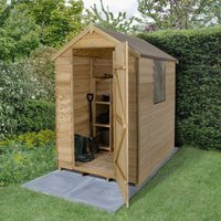 Product photograph showing Apex Shed 6 X 4