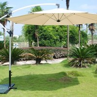 Product photograph showing Overhang Parasol 3m