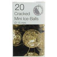 20 LED crackle ball micro