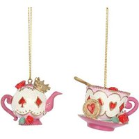 Product photograph showing Alice In Wonderland Decoration Teapot