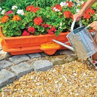 Hozelock self-watering flower and vegetable planter