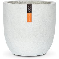 Cadix terrazzo egg planter grey medium 45×44