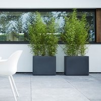 Pure soft brick divider trough with wheels anthracite