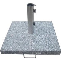 Product photograph showing Bramblecrest Granite Parasol Base 25kg