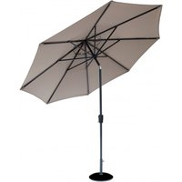 Product photograph showing Lifestyle Garden Parasol 2 5m Taupe