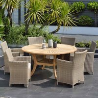 Product photograph showing Lifestyle Garden Martinique 6 Seat Dining Set