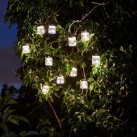 Product photograph showing Firefly Jars - Set Of 10 String Lights
