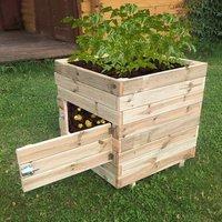 Square potato planter