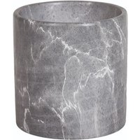 Grey marble effect planter