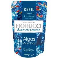 Refil de Sabonete Líquido Algas Marinhas Fiorucci com 440ml 440ml