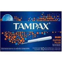 Absorvente Interno Tampax Super Plus com 10 unidades 10 Unidades