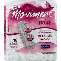 Absorvente Moviment Miss Regular 16 Unidades