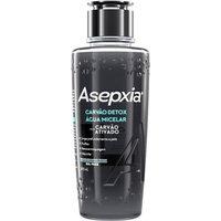 Água Micelar Facial Asepxia Carvão Detox Oil Free com 200ml 200ml