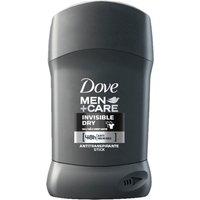 Antitranspirante em Barra Dove Men Invisible Dry 48h 50g