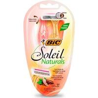 Aparelho de Depilação Bic Soleil Premium Naturals com 2 Unidades 2 Unidades