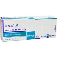 Benzac AC 100mg/g Gel Dermatológico com 60g 60g