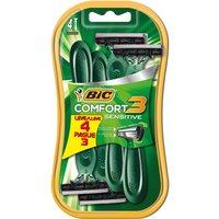 Barbeador Bic Comfort 3 Sensitive 4 Unidades