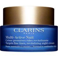 Clarins Multi-Active Nuit Creme Anti-idade com 50ml 50ml