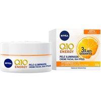 Creme Facial Antissinais Dia Nivea Q10 Energy Vitamina C FPS 15 com 50ml 50ml