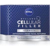 Creme Facial Antissinais Nivea Hyaluron Cellular Filler Noite com 50ml 50ml