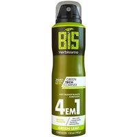 Desodorante Aerossol Bis Herbíssimo Green Leaf 150ml
