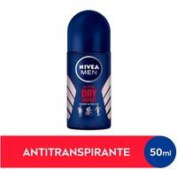 Desodorante Antitranspirante Roll-On Nivea Men Dry Impact com 50ml 50ml